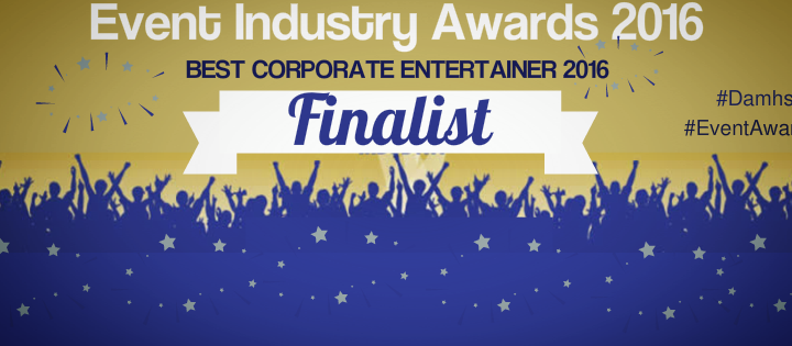 "Damhsa Nominated for ""BEST CORPORATE ENTERTAINER"" in the 2016 Event Industry Awards"