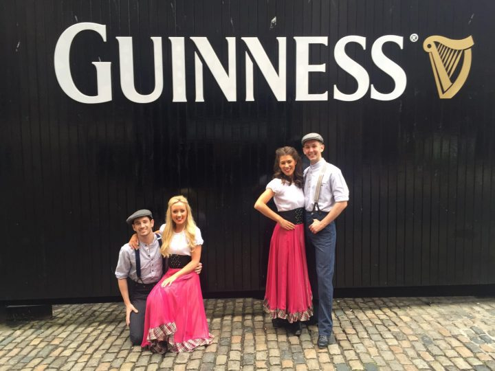Gig at the Guinness Brewery.