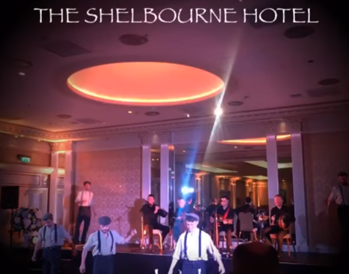 Throwback to our gig at the Shelbourne Dublin.