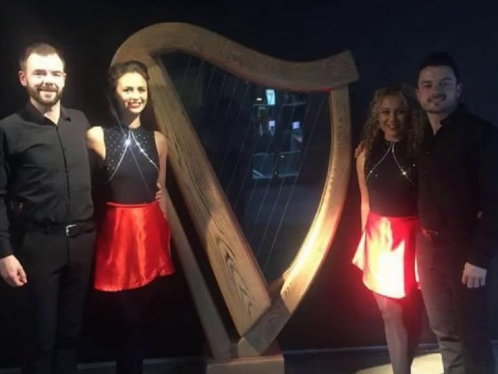 Performing at the Guinness Storehouse