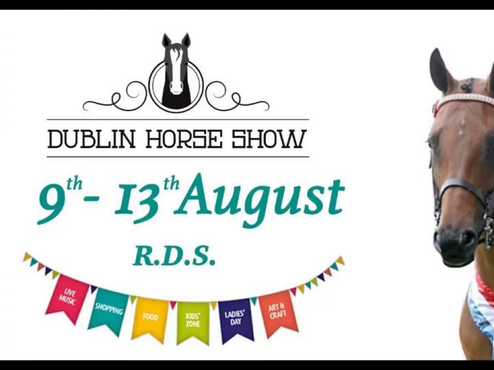 Damhsa performing at the RDS Dublin Horse Show