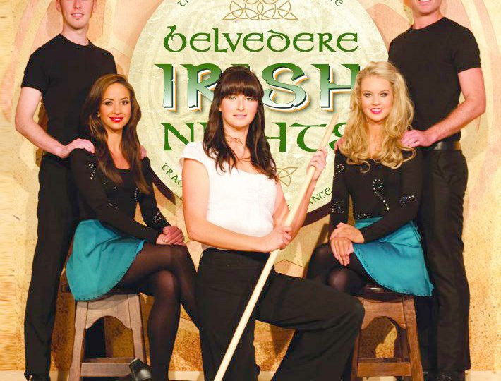 Damhsa at Belvedere Irish Nights